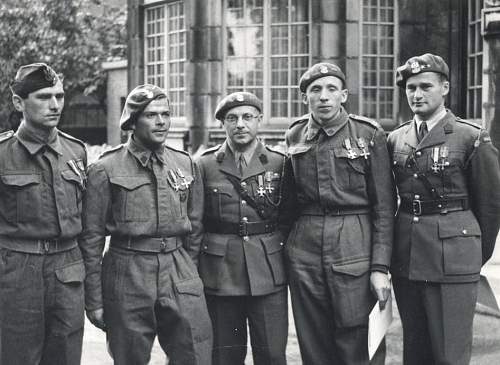 Officers and OR awarded the Norweigan War Cross 2